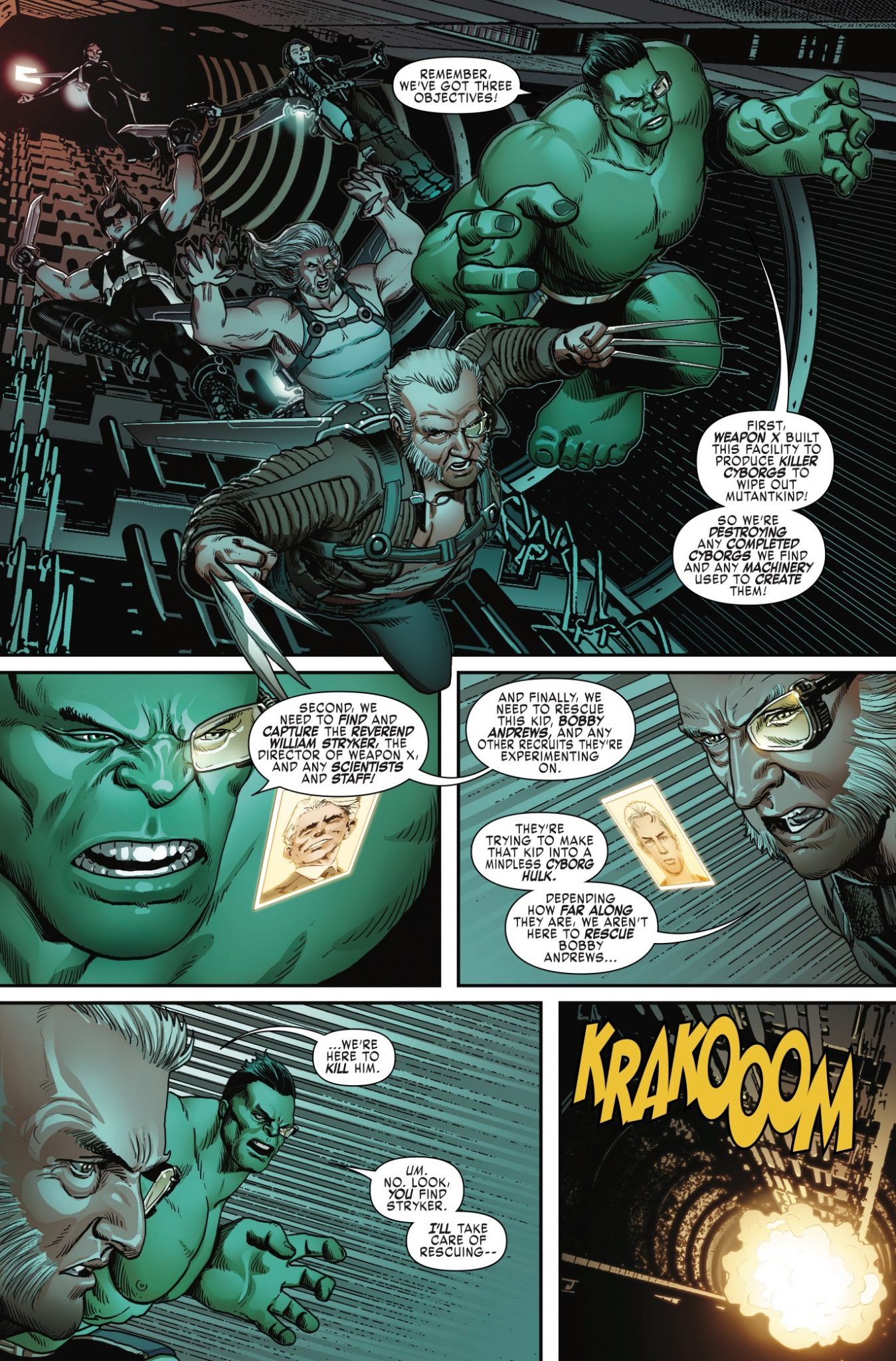 Monster mayhem and special ops: Weapon X #6 is great fun