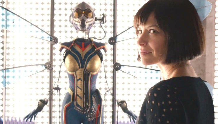 Evangeline Lily shares first image of the Wasp's MCU costume on creator's 100th birthday