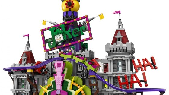 Lose your mind at The Joker Manor: New from LEGO