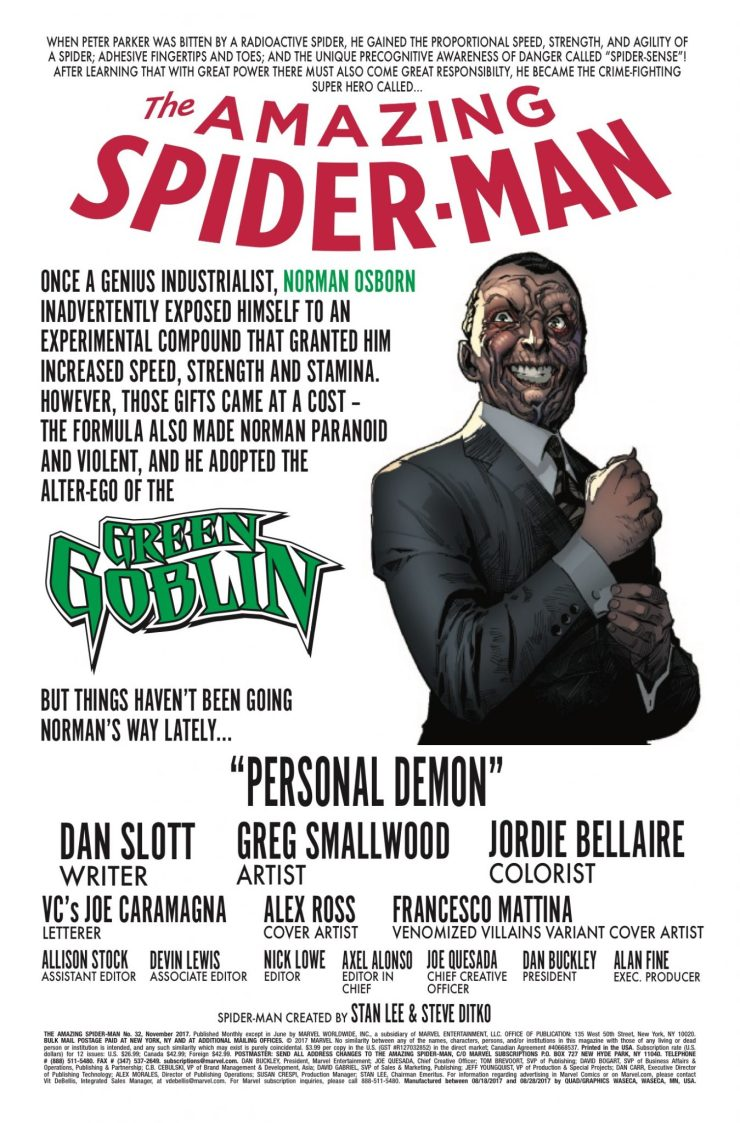 Marvel Preview: Amazing Spider-Man #32