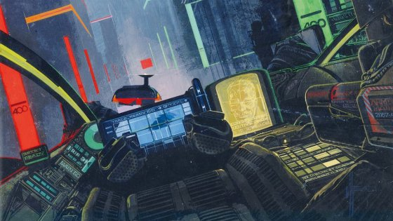 Science fiction artist Syd Mead created the imagery for 'Blade Runner' and many more, and now gets a slick book from Titan Books.