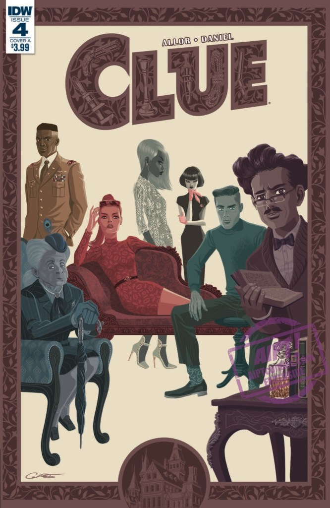 [EXCLUSIVE] IDW Preview: Clue #4