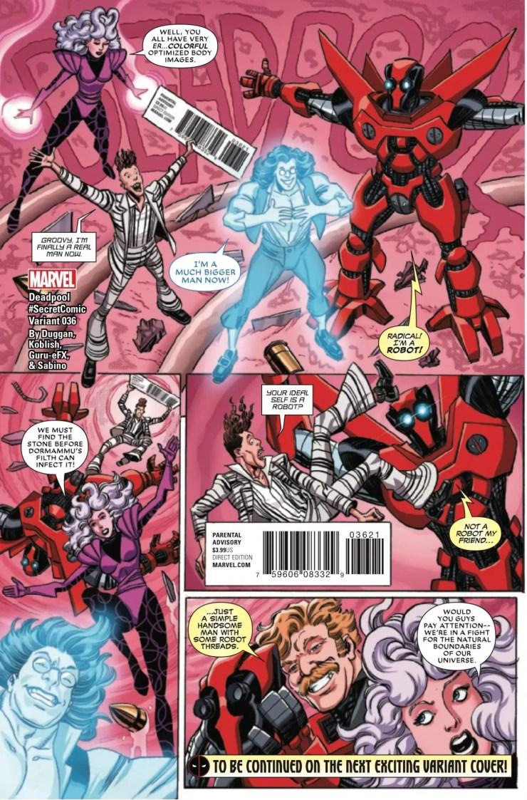 Marvel Preview: Deadpool #36
