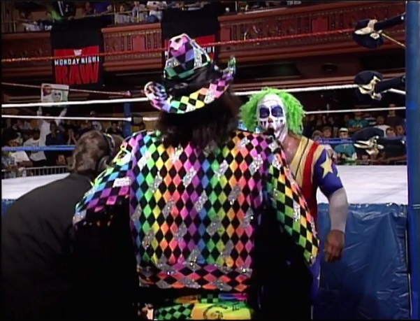 Doink Challenging Randy Savage