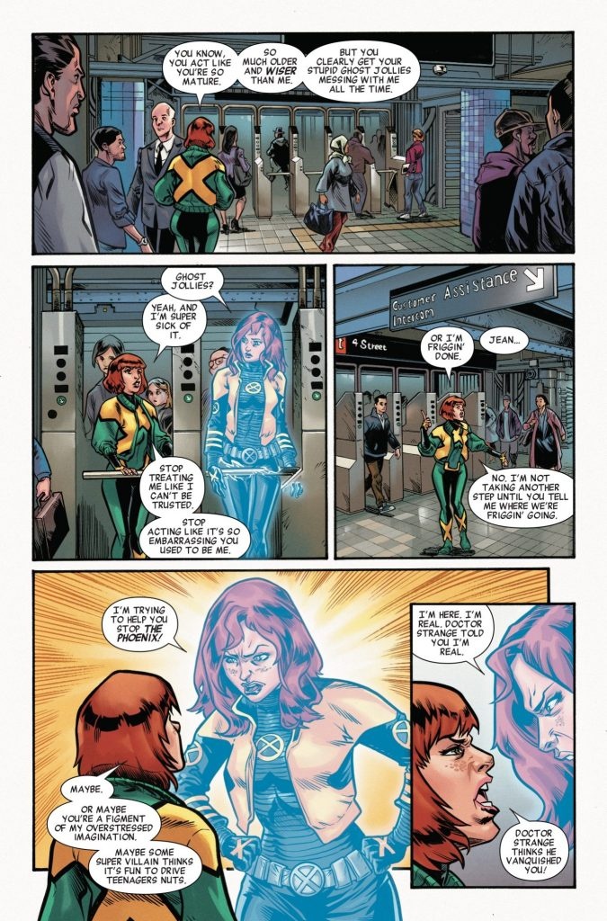 Jean Grey Vol. 2: Final Fight review: this capable, fiery, and passionate young Jean is a lot of fun