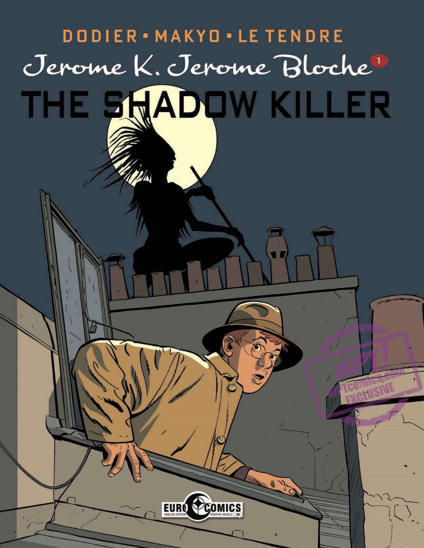 'Jerome K. Jerome Bloche: The Shadow Killer' review: those with a clue will fall for Parisian junior detective