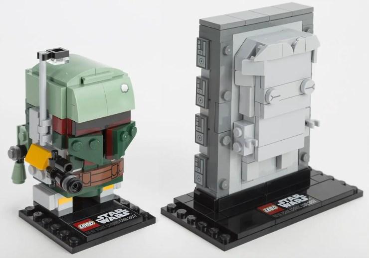 LEGO reveals BrickHeadz Boba Fett & Han Solo in carbonite NYCC Exclusive!