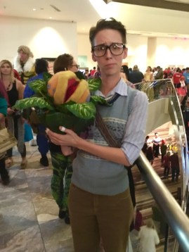Seymore and Audrey II from Little Shop of Horrors