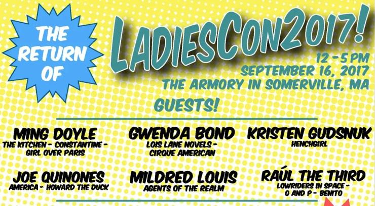 Celebrating women, diversity & inclusiveness in comics: A look back at LadiesCon 2017