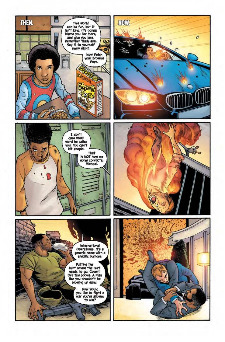 Wild Storm: Michael Cray #1 Review