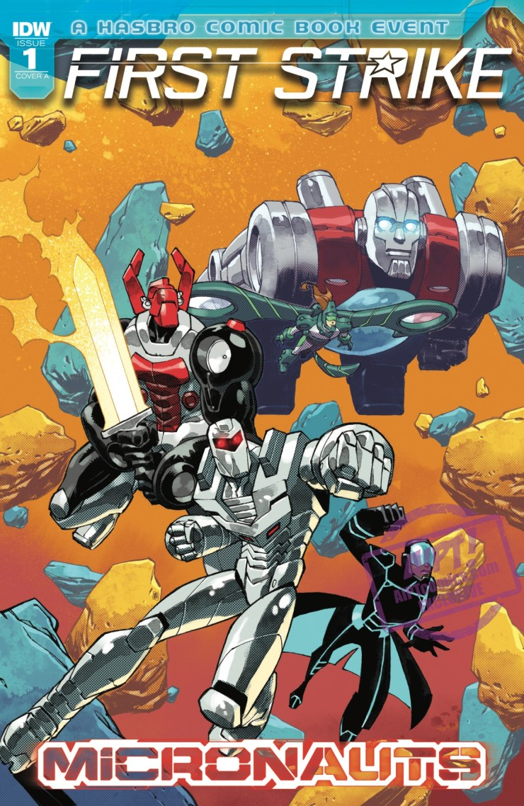 [EXCLUSIVE] IDW Preview: Micronauts: First Strike #1