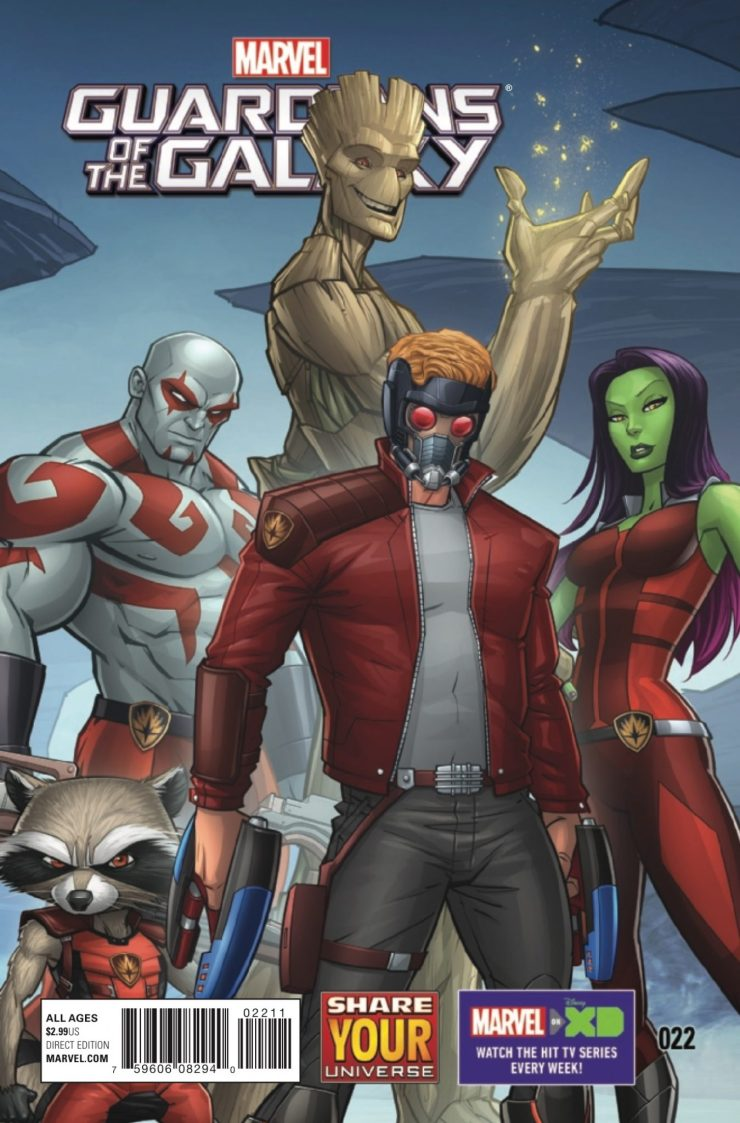 Marvel Preview: Marvel Universe Guardians of the Galaxy #22