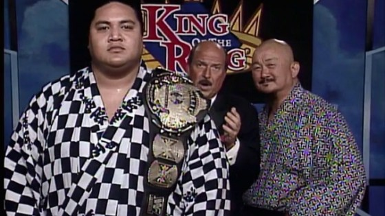 Mean Gene Interviewing Yokozuna and Mr. Fuji