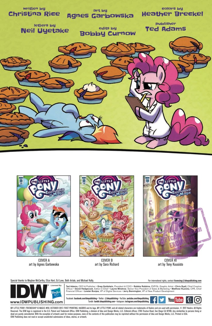 [EXCLUSIVE] IDW Preview: My Little Pony: Friendship is Magic #59