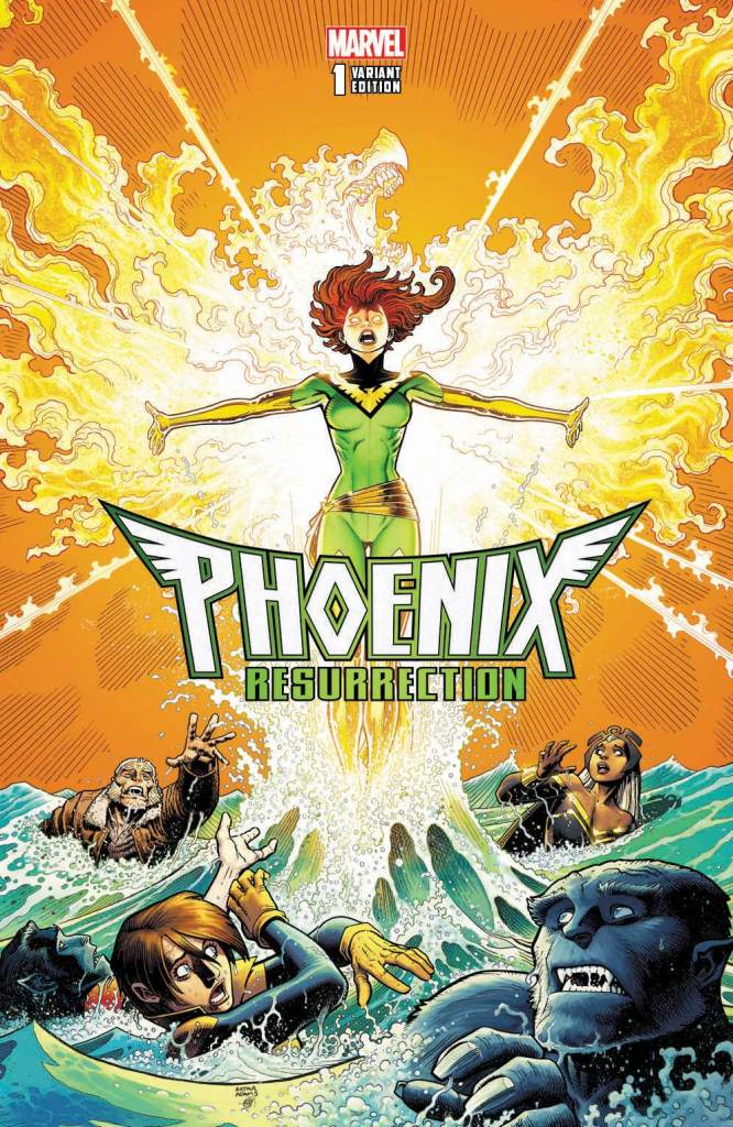 Marvel Preview: Phoenix Resurrection: The Return of Jean Grey #1