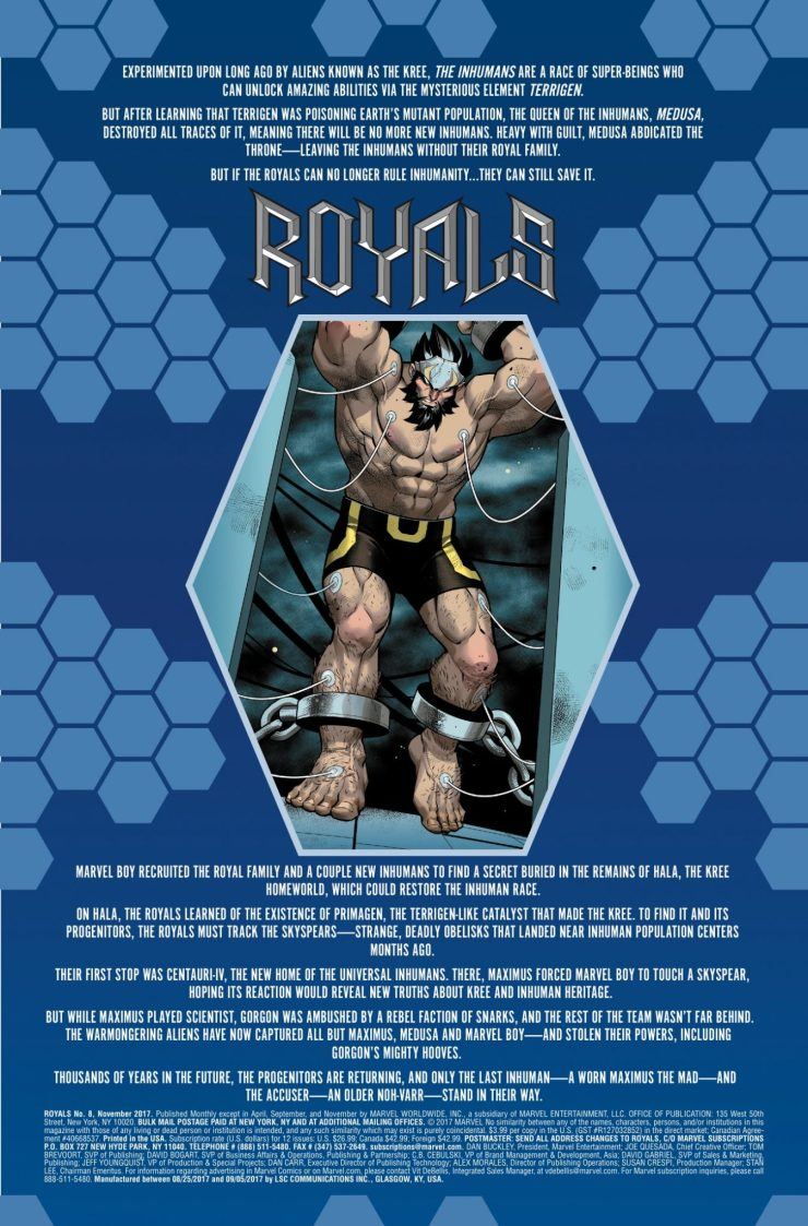 Marvel Preview: Royals #8