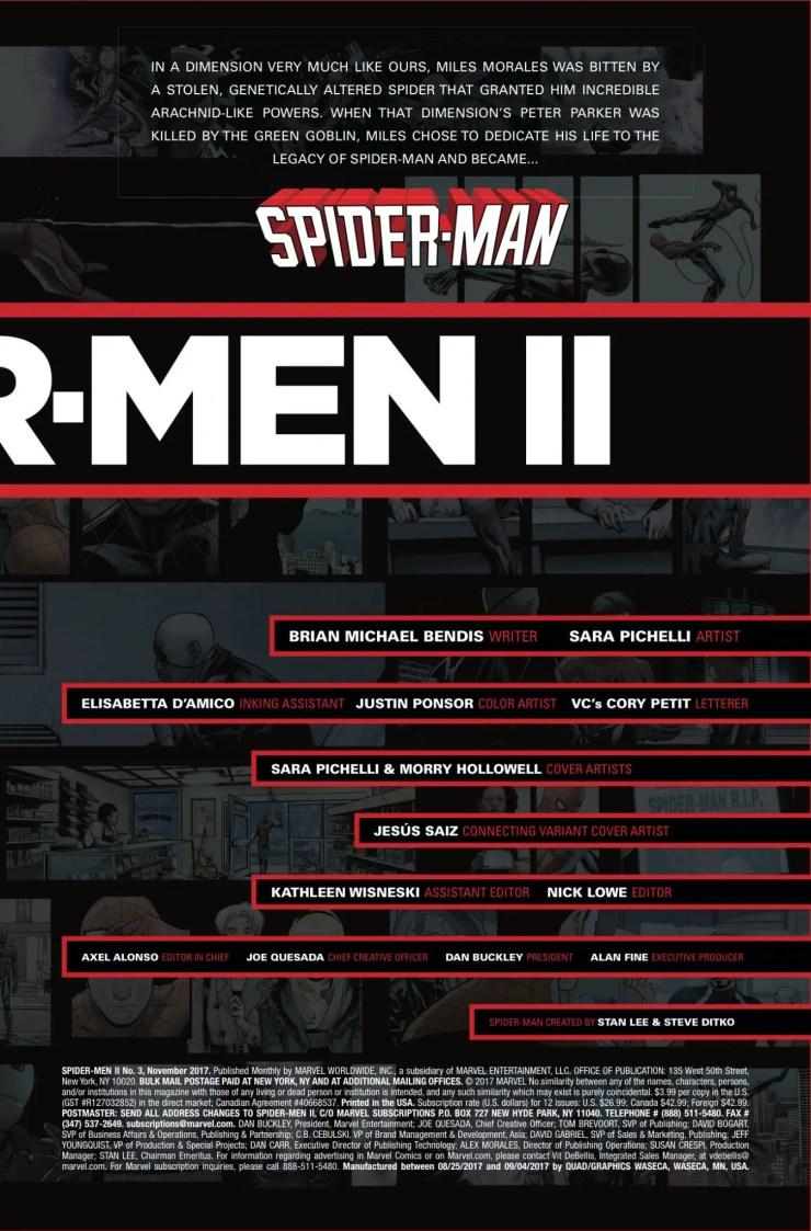 Marvel Preview: Spider-Men II #3