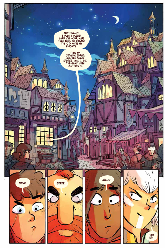 Scales & Scoundrels #1 Review