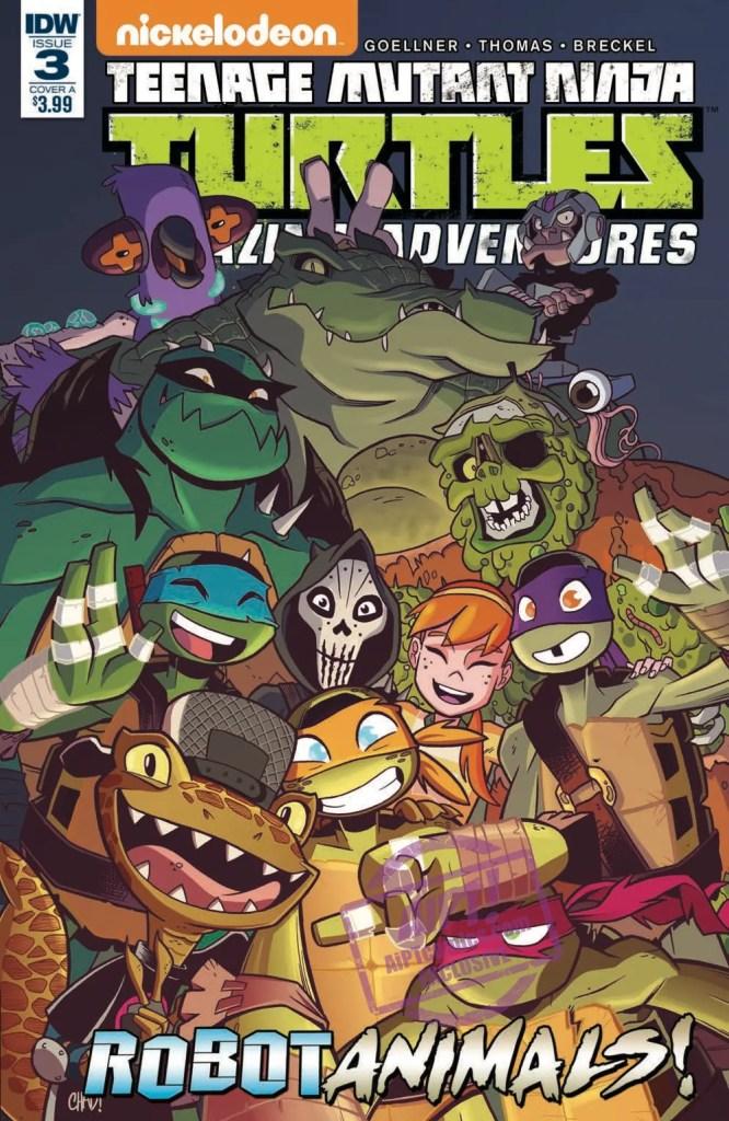 [EXCLUSIVE] IDW Preview: TMNT Amazing Adventures: Robotanimals! #3