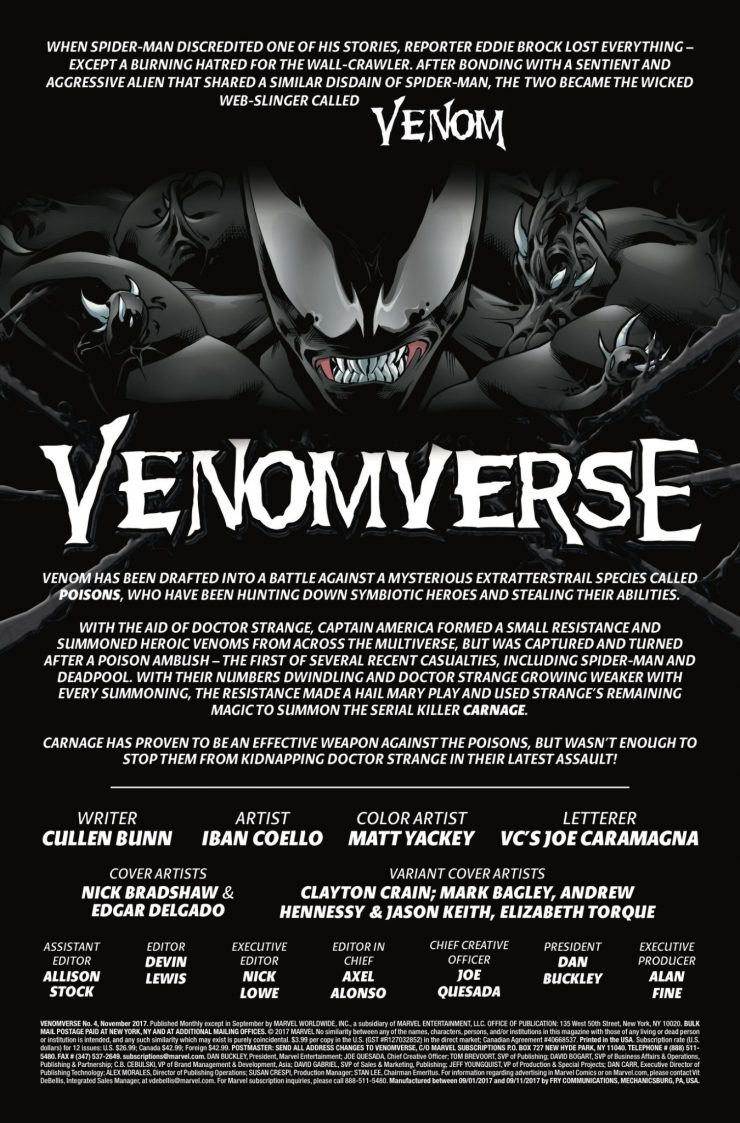 Marvel Preview: Venomverse #4