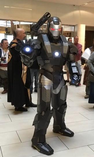 War Machine from Iron Man 2.