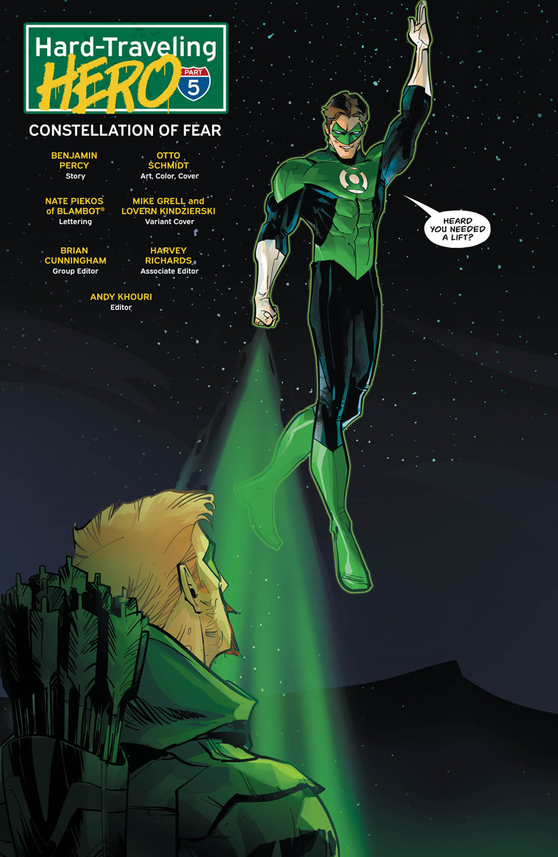 Green Arrow #30 Review