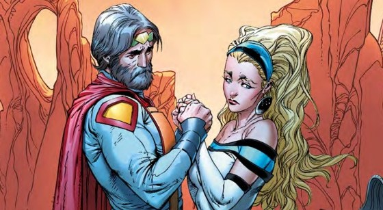 With the shocking reveal of Mr Oz's true identity last issue, Superman must deal with the revelation and hear how Mr Oz came to be.