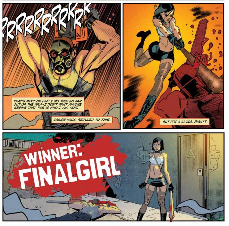 Hack/Slash: Resurrection #1 Review