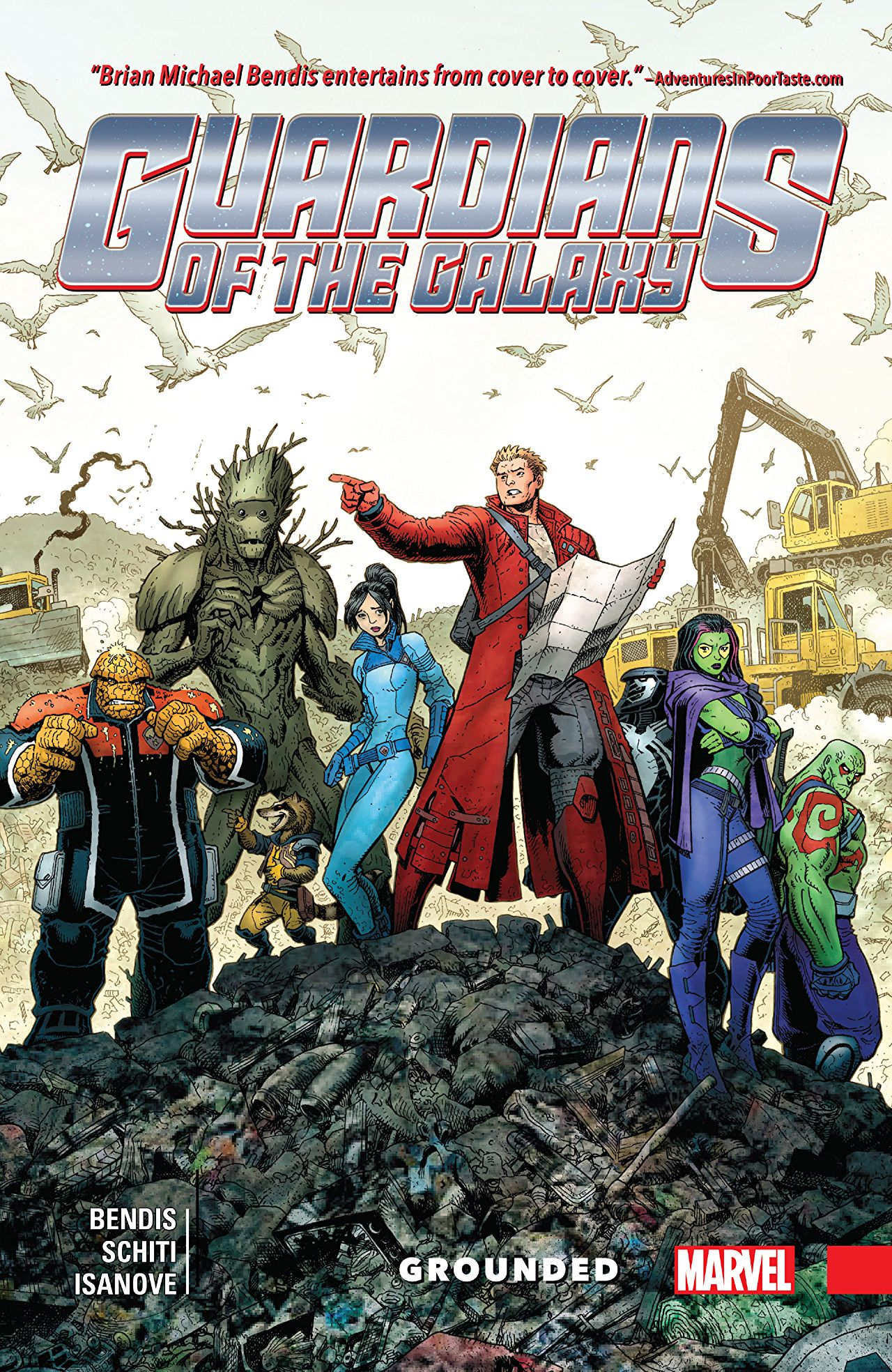 "A finish for the ages, ""Guardians of the Galaxy: New Guard Vol. 4: Grounded"" review"