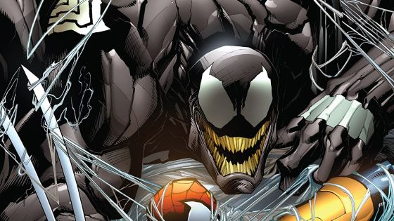 Venom not only gets original number, but a solid collection here too.