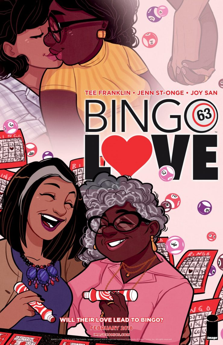Tee Franklin talks Kickstarter turned Image Comics graphic novel 'Bingo Love'