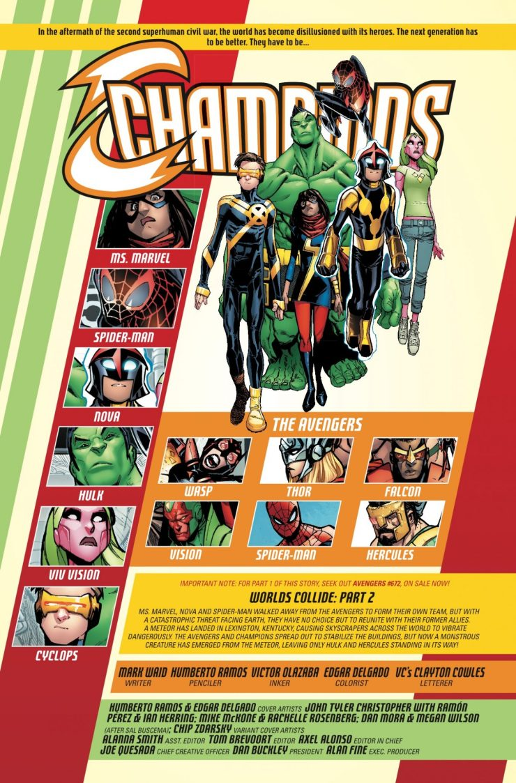 Marvel Preview: Champions #13