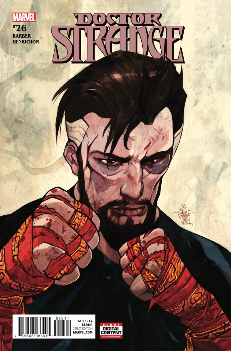 Doctor Strange and Zelma make what may well be their last house-call!