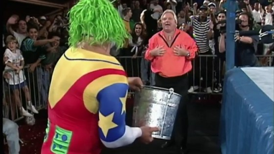 Doink Splashes Bobby Heenan With Water