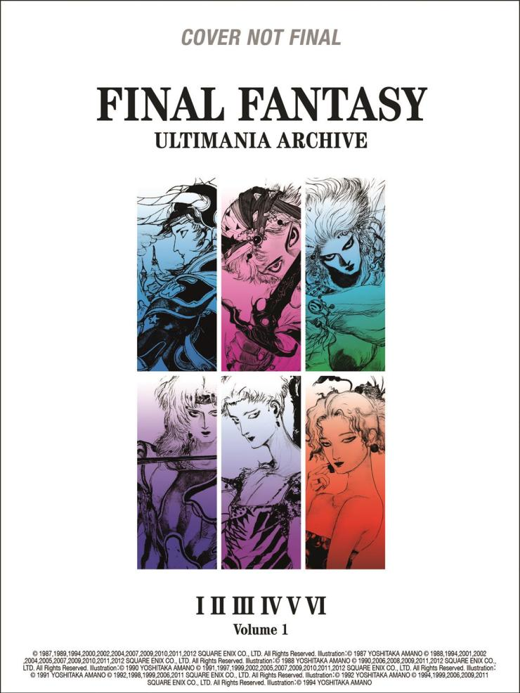 Dark Horse's Final Fantasy Ultimania Archive will be a must for fans of the series