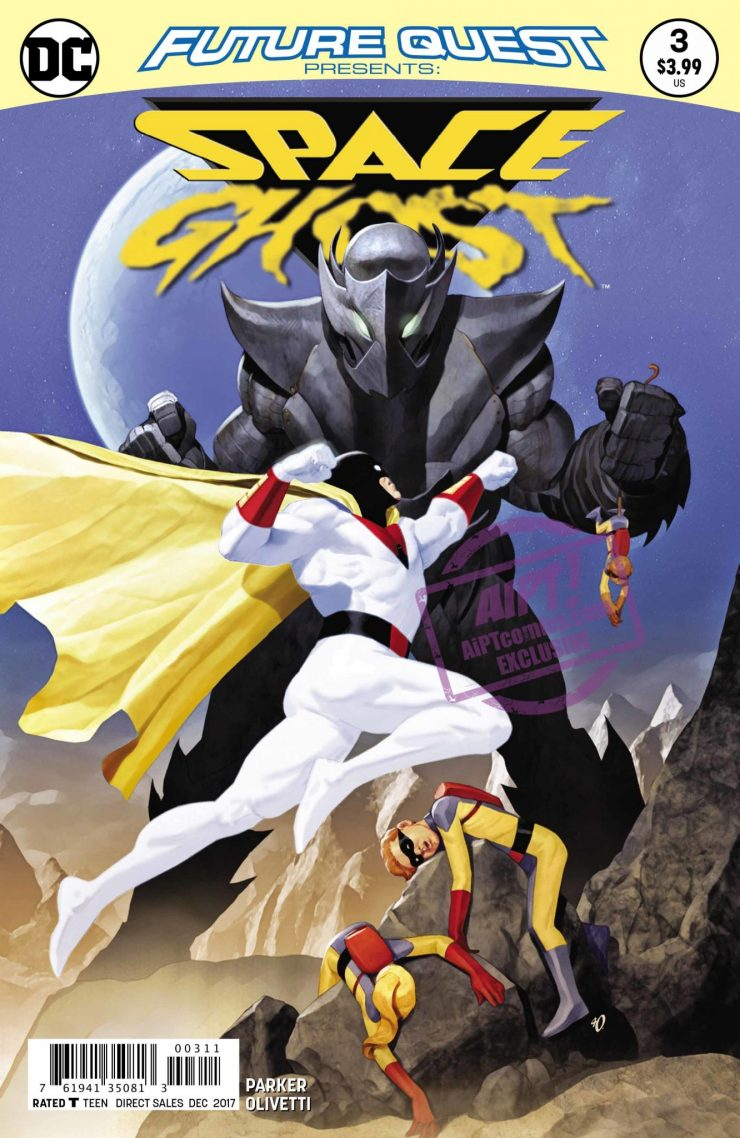 [EXCLUSIVE] DC Preview: Future Quest Presents: Space Ghost #3