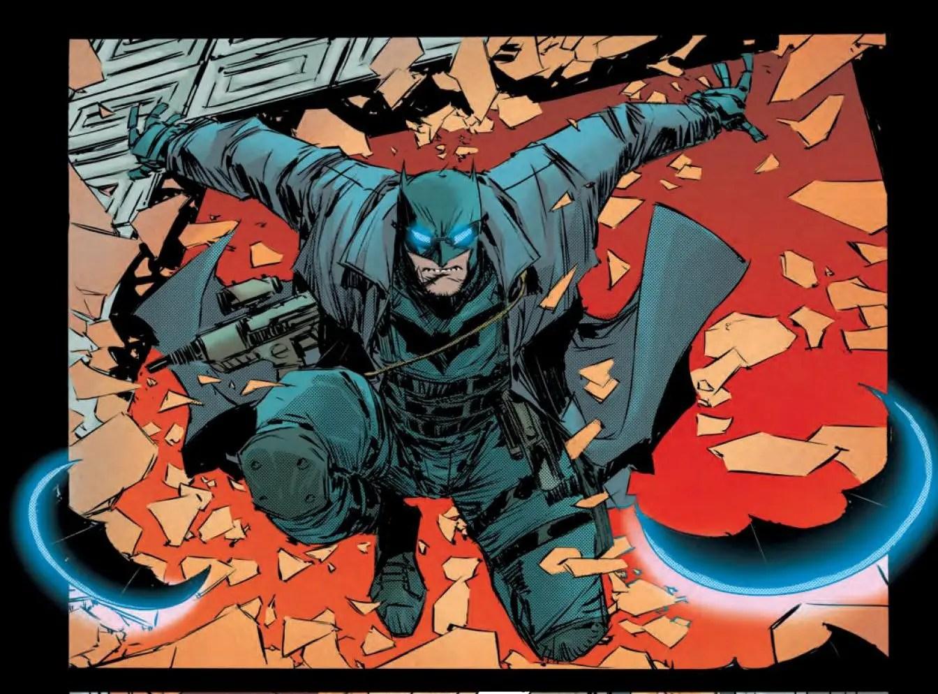 Gotham City Garage #1 Review
