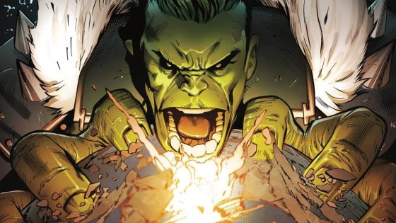 Enjoy a reprise of one of Hulk's greatest stories but with all new purpose.
