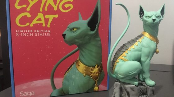 Unboxing/Review: Saga Lying Cat limited edition 8-inch statue