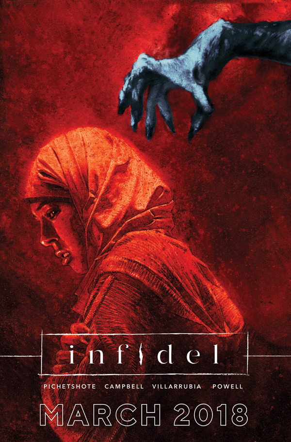 NYCC 2017: New horror book 'Infidel' with an urban spin coming in March from Image Comics