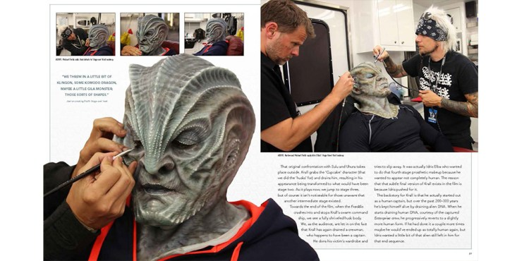 'Star Trek Beyond - The Makeup Artistry of Joel Harlow' review: Out of this world