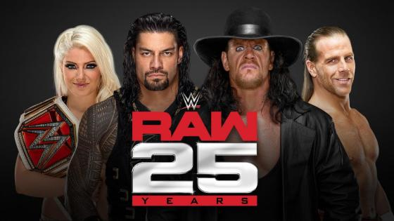 Full list of legends and guests slated to appear on WWE Raw's 25th anniversary episode