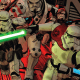 Jason Aaron's final issue has two stories in this extra-sized issue focused on Sand People and Scar Squadron.