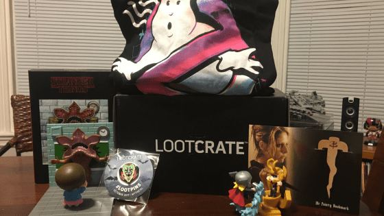 October's Loot Crate is here! Our video unboxing/review explores its delightful treasures.
