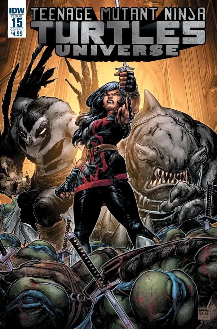 Teenage Mutant Ninja Turtles Universe #15 Review