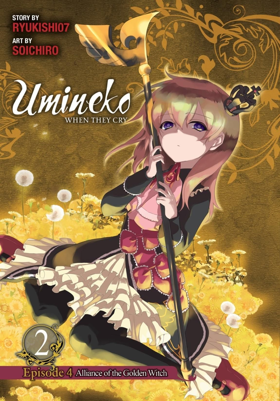 Umineko: When They Cry Episode 4: Alliance of the Golden Witch Review
