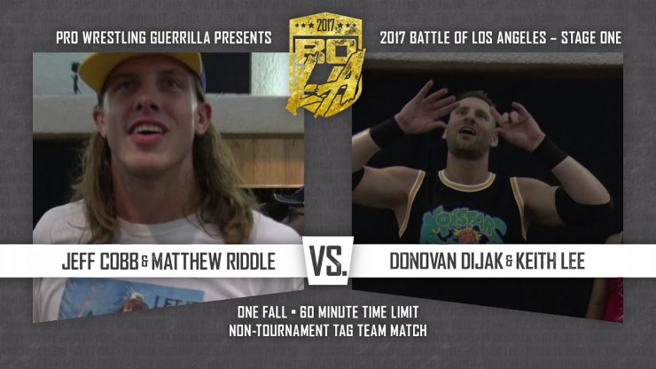 PWG Battle of Los Angeles 2017 Stage One: Out with old, in with the new?