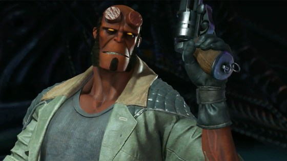 Watch: First footage of Hellboy in Injustice 2, arriving November 14