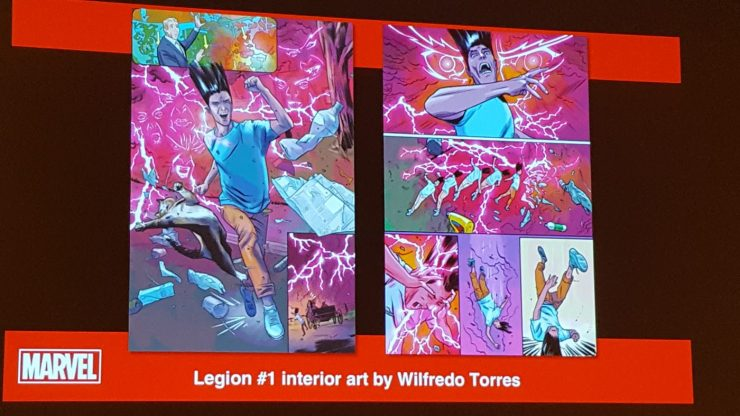 "Plot of upcoming ""Legion"" series revealed at Marvel Legacy:  X-Men Panel"