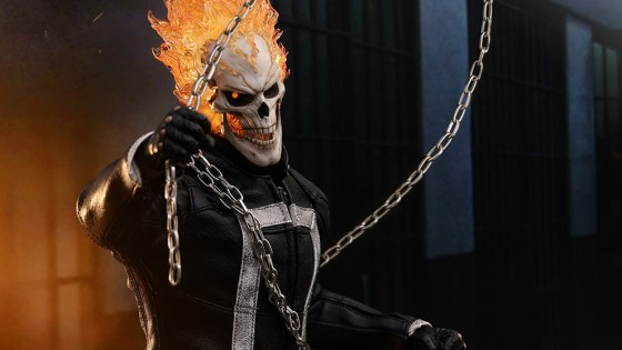 Unboxing/Review: Ghost Rider Marvel sixth scale figure Hot Toys and Sideshow exclusive